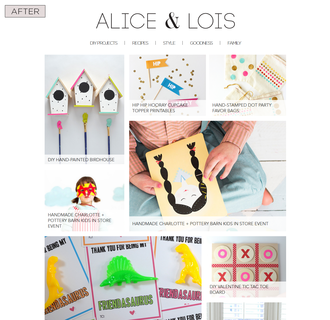 Alice & Lois Category Page - After